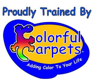 Proudly Trained By Colour Carpets